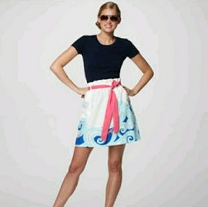 Lilly Pulitzer Avery Ride the Wave Skirt